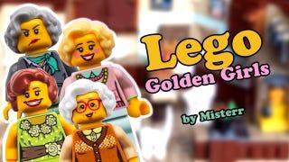 Illustration for article titled Golden Girls Lego Set