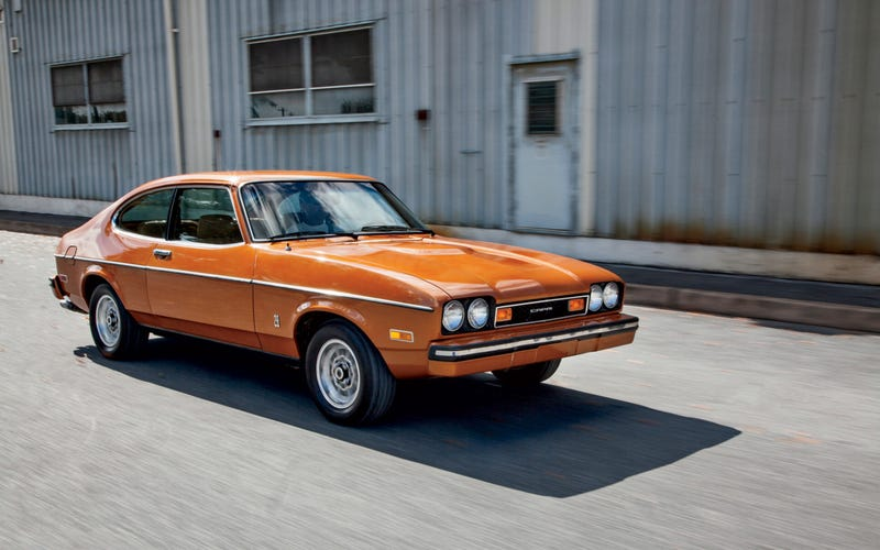 Illustration for article titled Goddamn the 70s Mercury/Ford Capri looks fantastic.