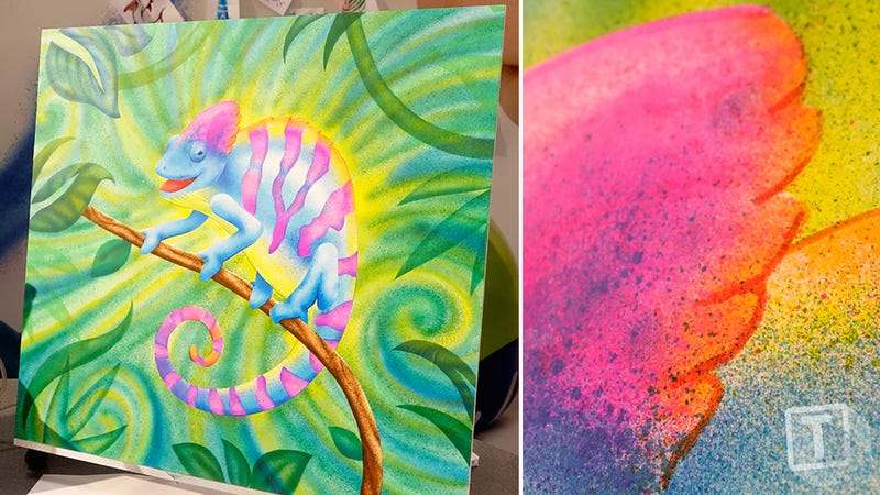 Turn Crayola Markers Into Spray Paint Without All Those