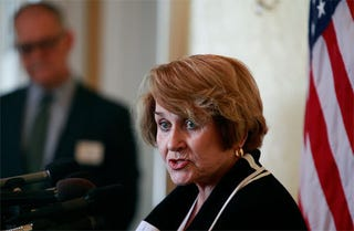 Illustration for article titled Louise Slaughter: New Favorite Congresswoman