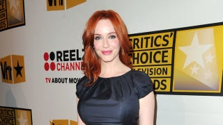 Illustration for article titled Christina Hendricks Could Be The Next Wonder Woman