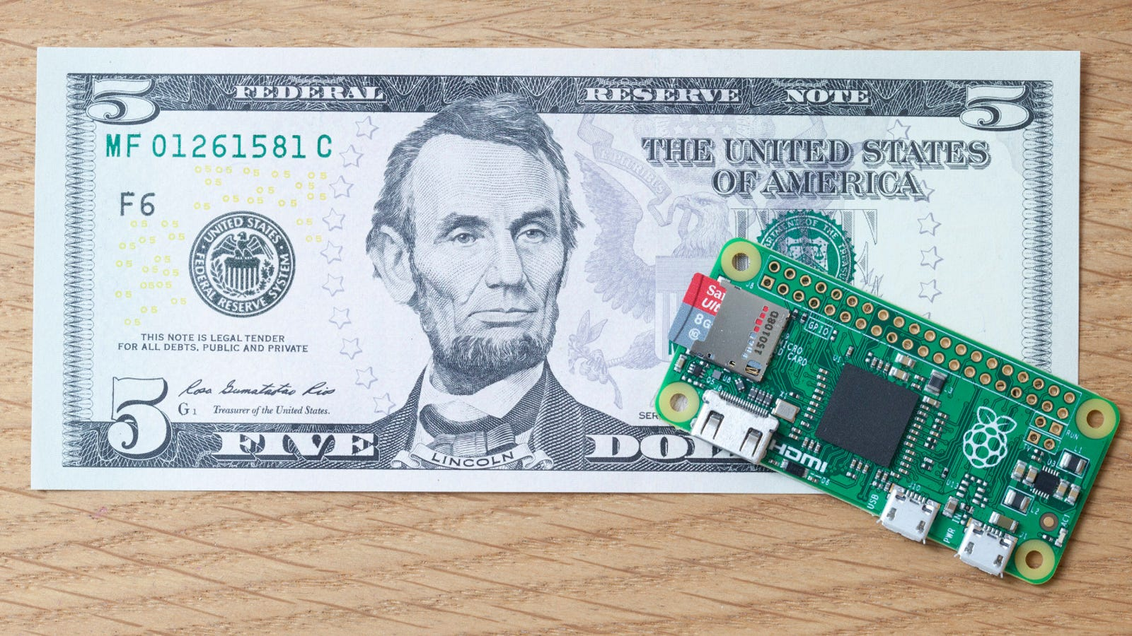 There's a New Raspberry Pi That Only Costs $5