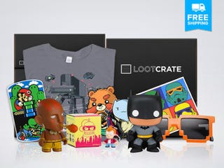 Illustration for article titled Last Change To Get 15% Off Loot Crate's Monthly Geek & Gamer Box