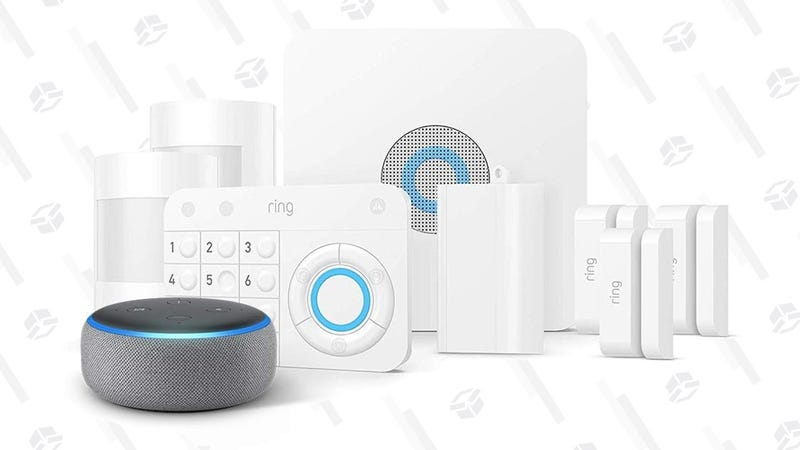 Ring 8-Piece Home Security System + FREE Echo Dot | $179 | Amazon | Discount shown at checkout