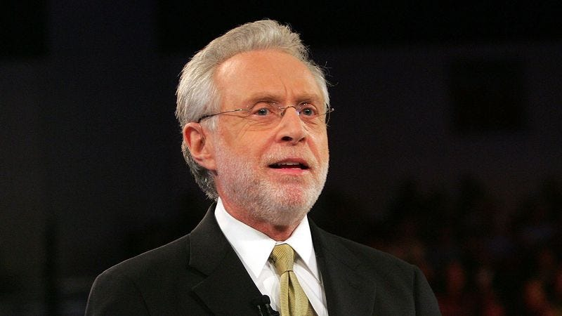 Illustration for article titled Wolf Blitzer Decks Boston Man Who Hasn't Been Healed By Red Sox Baseball