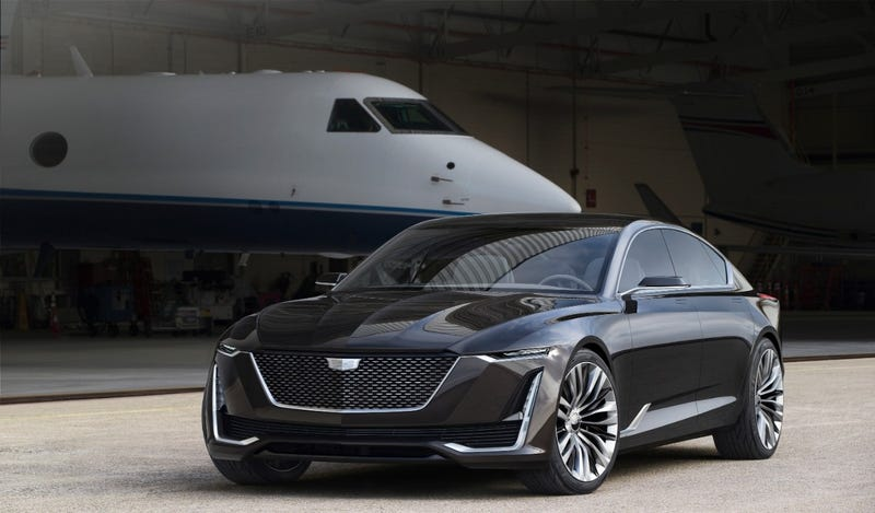 Illustration for article titled The Cadillac Escala Concept Is One Step Closer To A Gorgeous V8 Flagship