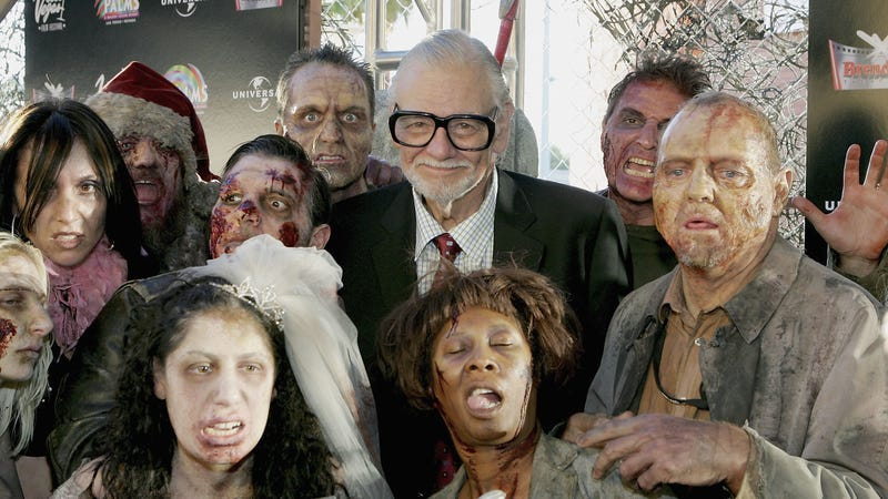 Illustration for article titled George Romero's wife says he left behind dozens of scripts when he died