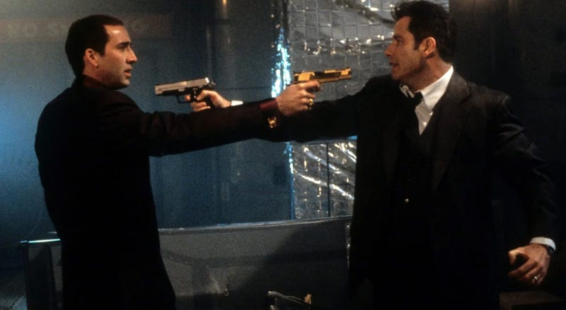 The 1997 action film Face/Off is being remade.