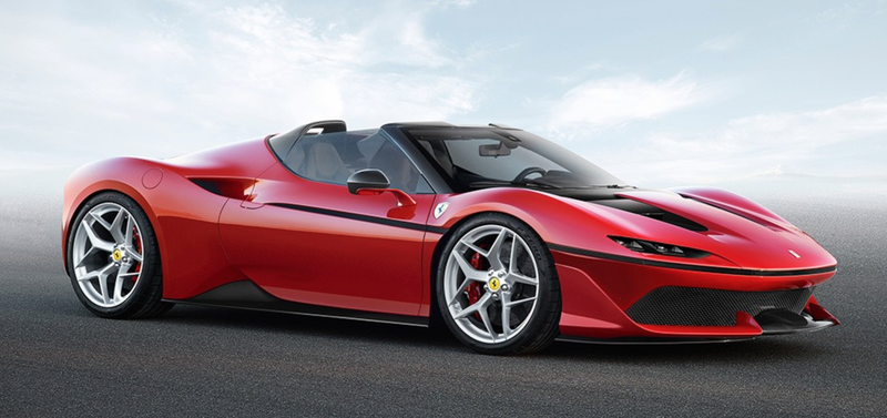 Japan's Surprise Limited Edition Ferrari J50 Could Suggest A Striking New Design Direction