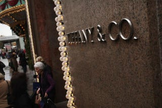 Tiffany & Co.'s flagship store, November 29, 2011, in New York City.Spencer Platt/Getty Images