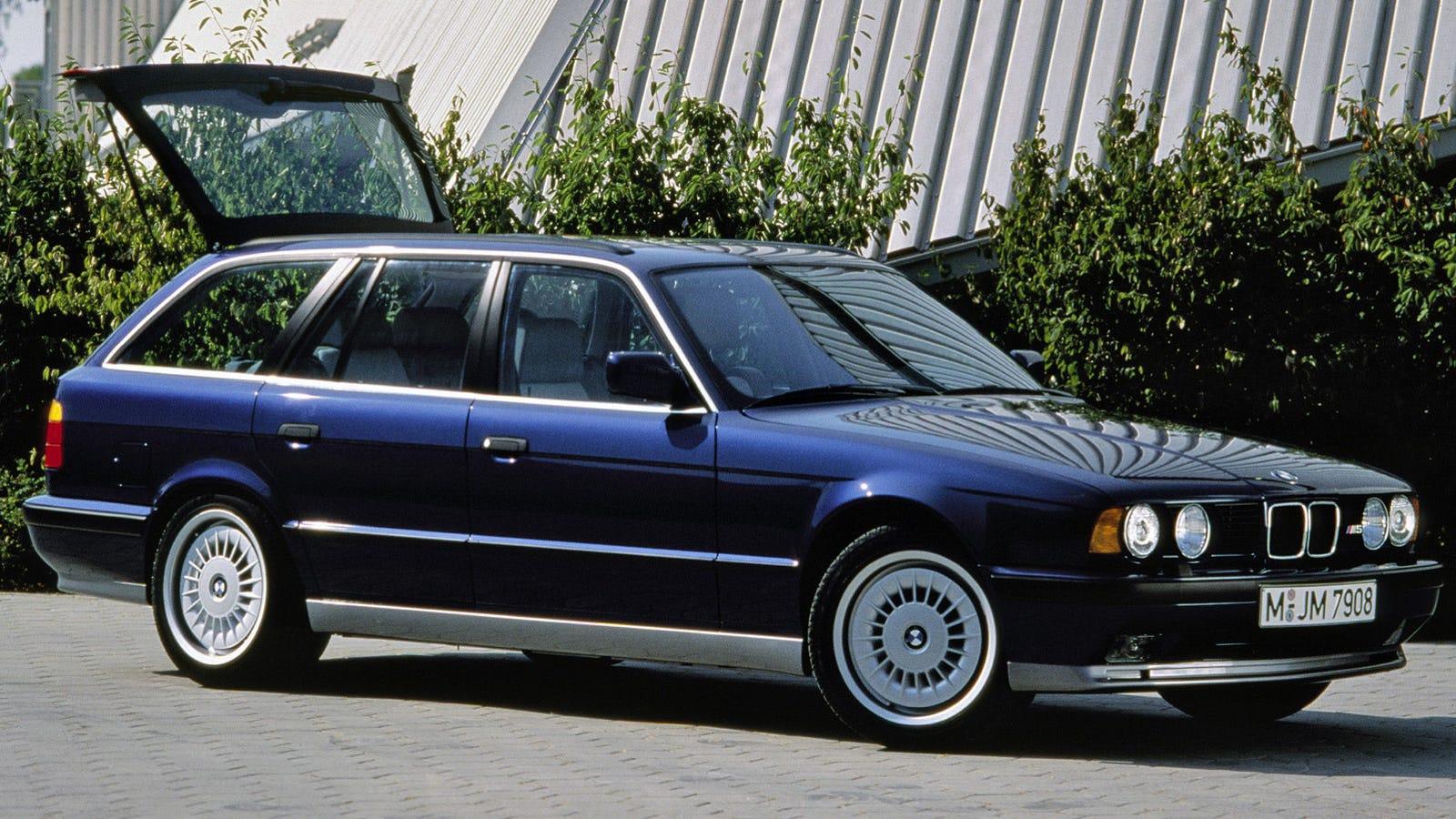 The Lord of the Wagons Is a BMW E34 M5 With the V12 From a McLaren F1