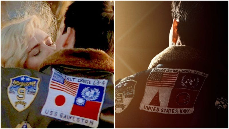 Illustration for article titled Japanese and Taiwanese Flag Removed From Maverick's Jacket In New Top Gun