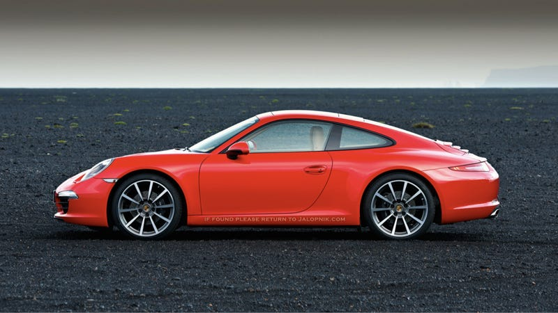 Illustration for article titled 2012 Porsche 911: This is it