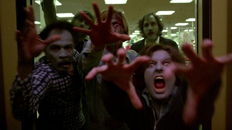 A still from George A. Romero's iconic zombie film, Dawn of the Dead. Image: United