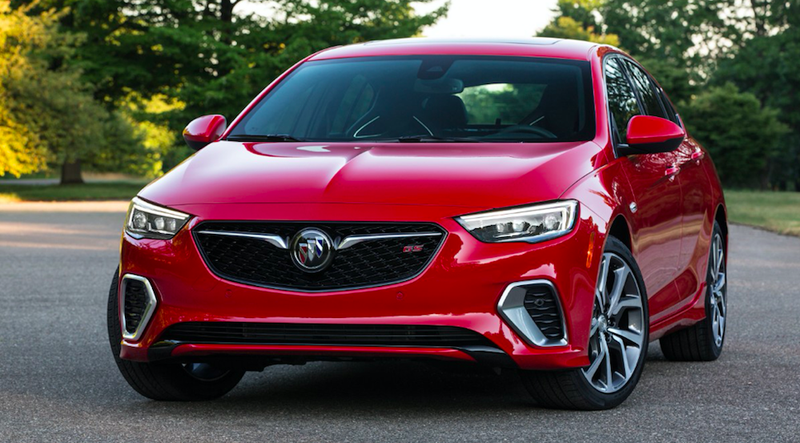 Buick Regal GS debuts with 310-hp, 9-speed and AWD