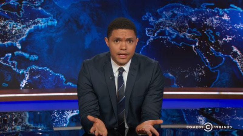 The Daily Show With Trevor Noah (Screenshot: YouTube)