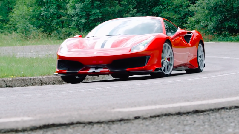 Illustration for article titled The Ferrari 488 Pista Is Almost Too Fast to Drive but Too Good Not To
