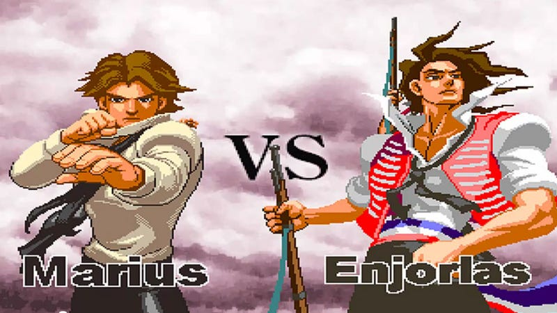Illustration for article titled There is a Fighting Game Based on Les Misérables