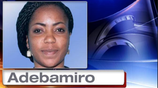 Temitope Adebamiro has been charged with first-degree murder in the stabbing death of her husband, Adeyinka Adebamiro.CBS News Screenshot