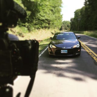 Illustration for article titled Stock v Turbo Scion FRS, Video Preview