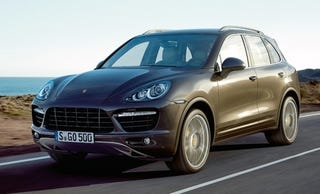 Illustration for article titled 2011 Porsche Cayenne: Hybridized For Your Marketing Pleasure