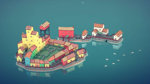 Oh No, Townscaper Is Coming To Switch And Mobile