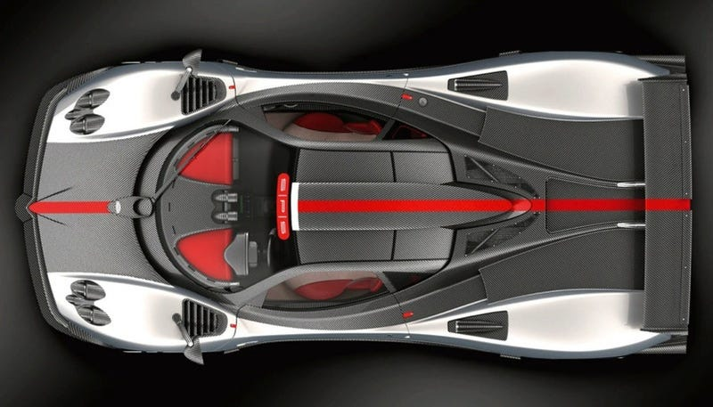 Illustration for article titled Pagani Zonda Cinque Chassis #1 On Sale For $2 Million