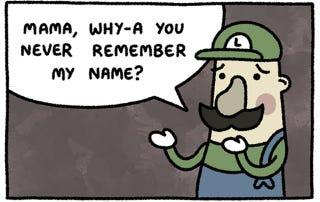Illustration for article titled Poor, Poor Luigi