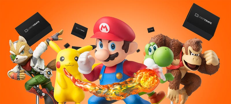 Illustration for article titled Loot Crate's $150 Amiibo Subscription Deal Is Certainly Something