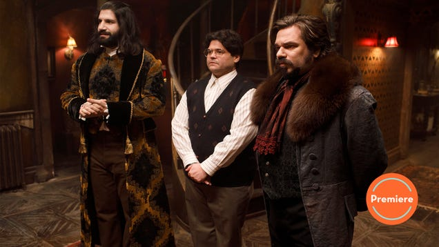 FX's What We Do In The Shadows pilot is a lot like the movie—and that's a good thing