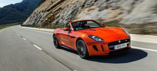 Illustration for article titled Jaguar F-Type Reportedly Getting A Stick Shift AND All-Wheel Drive