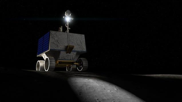 Meet VIPER, NASA's New Water-Hunting, Crater-Crushing Lunar Rover