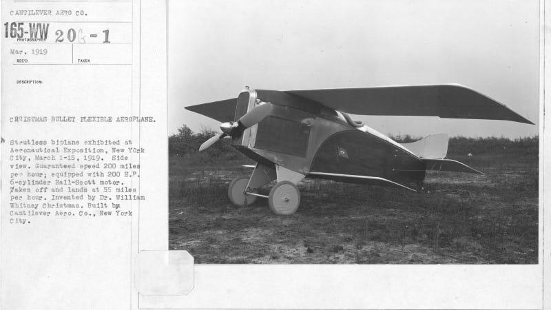 Illustration for article titled El peor avión de la historia era tan peligroso que mató a todos los que intentaron volarlo