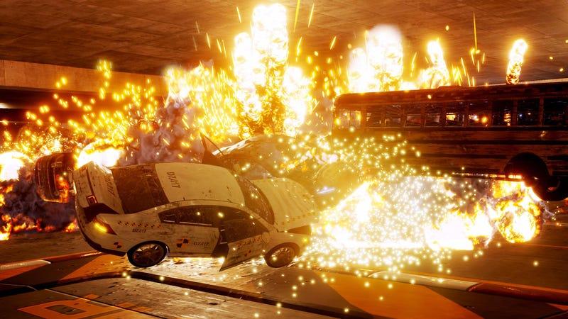 Illustration for article titled Danger Zone Is A Great Revival Of Burnout's Crash Mode