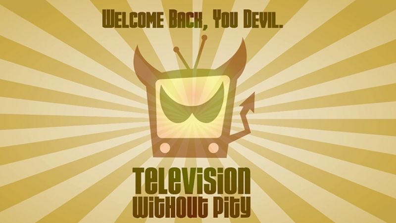 Illustration for article titled Television Without Pity has new owners and a relaunch in the works