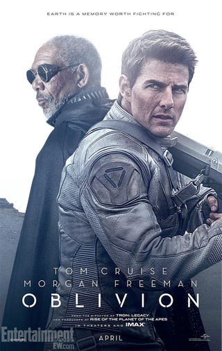 Illustration for article titled Oblivion Posters