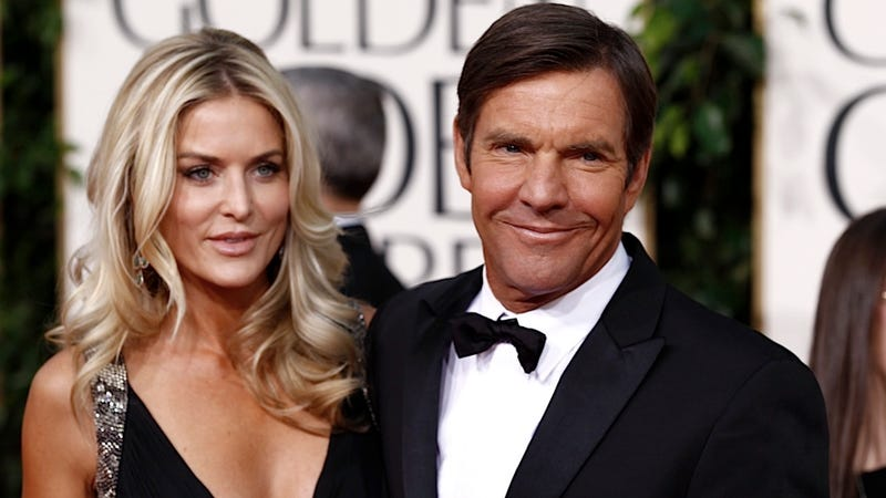 Illustration for article titled Dennis Quaid's Third Marriage Is Not the Charm