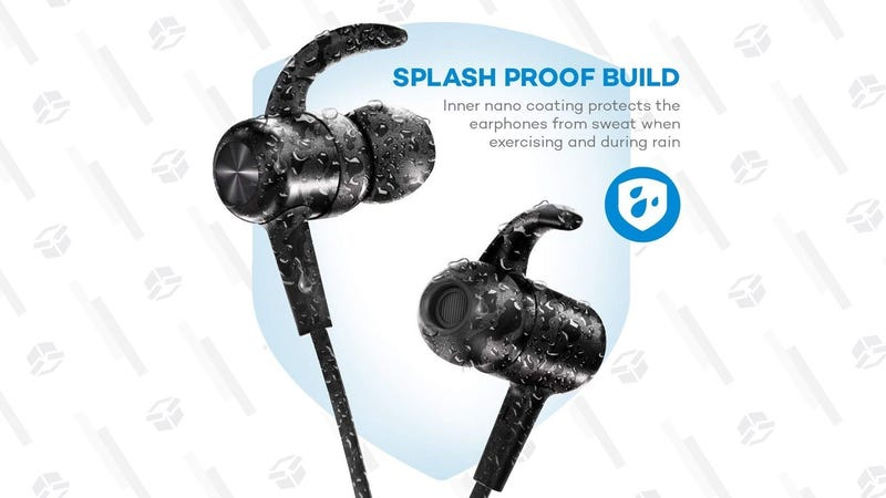 TaoTronics Nine Hour Bluetooth Earbuds | $16 | Amazon | Promo code KINJA26V