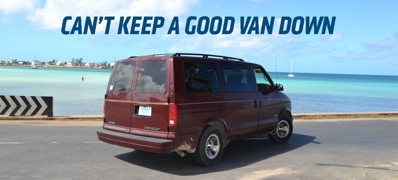 2002 Chevrolet Astro Van: The Truck Yeah! Beater Review