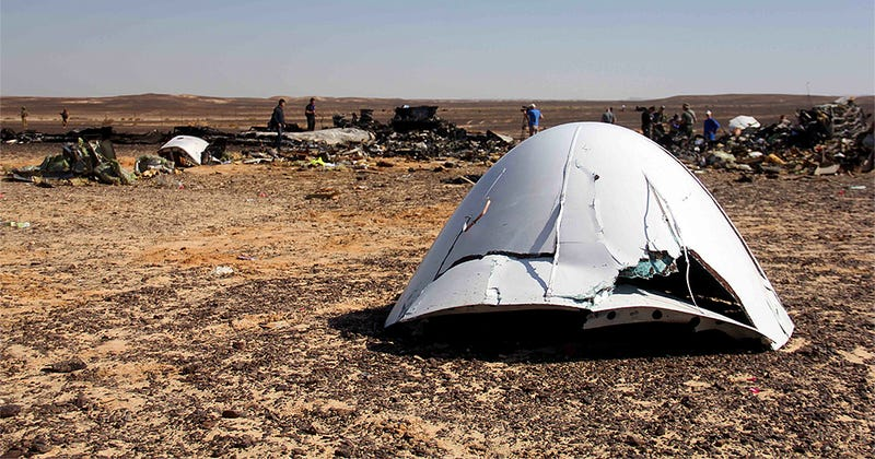 Illustration for article titled Everything That Could Have Caused The Crash Of Russian Metrojet Flight 9268