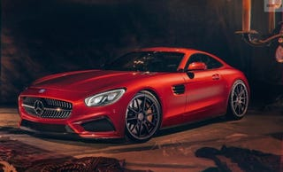 Illustration for article titled The AMG GT competitor is not a 911