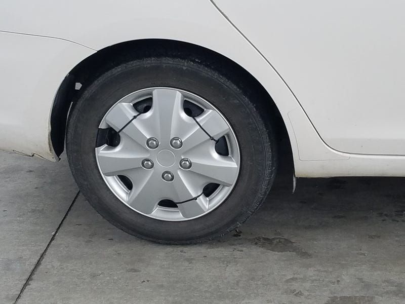 Illustration for article titled New style 3 piece wheels spotted