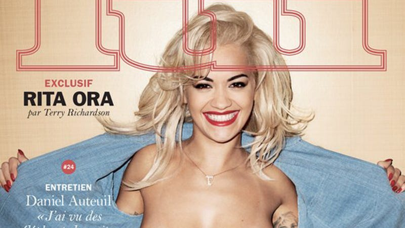 Illustration for article titled Rita Ora Was Photographed ToplessBy Terry Richardson