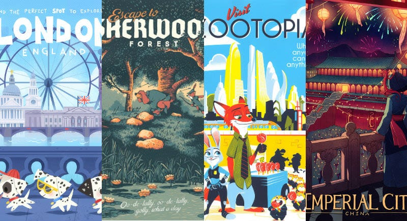 Illustration for article titled Estos son los carteles que nos gustaría ver en una agencia de viajes