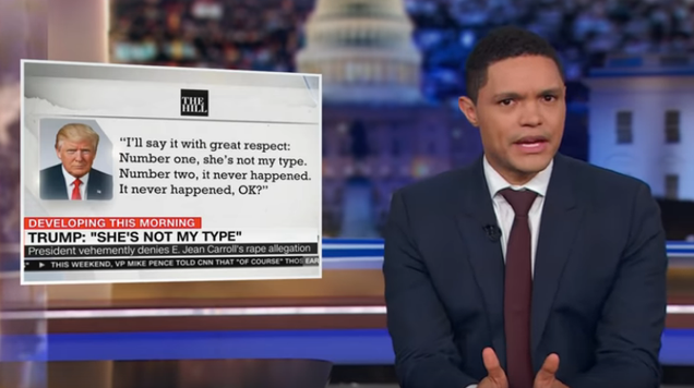 Late-night makes up for media silence on the latest Trump sexual assault accusation