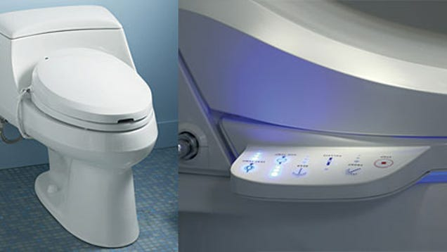 kohler c3 series toilet seats offer handsfree buttwashing american style
