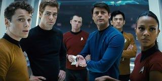 Illustration for article titled Star Trek Sneak Explodes In Giant Trekgasm