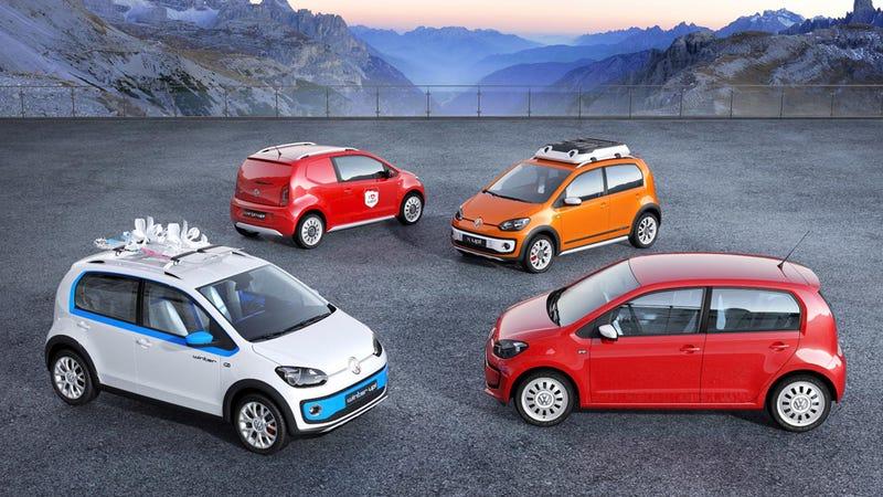 Volkswagen Throws Up S On Geneva Motor Show Stage