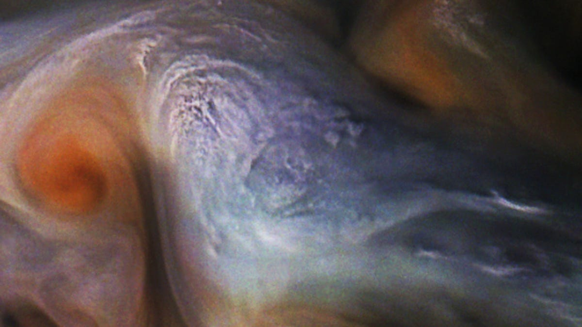 Image result for Juno's Latest Pic of Clouds on Jupiter Is an Absolute Stunner