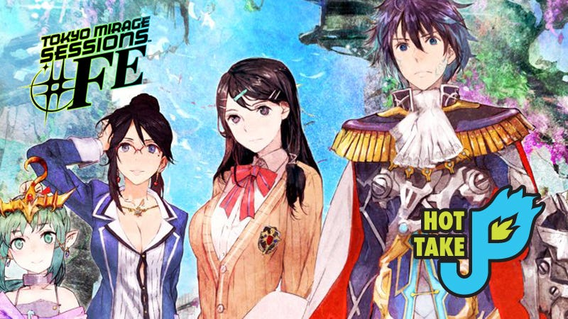Illustration for article titled Hot Take: Tokyo Mirage Sessions #FE (Wii U)